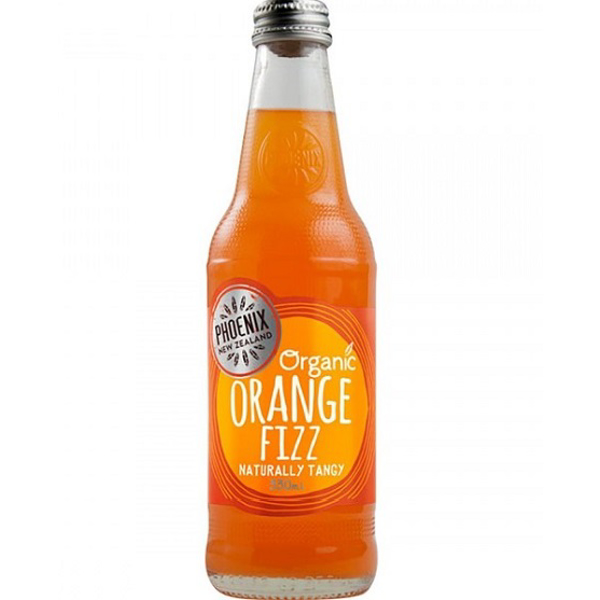 Phoenix Organic Orange Fizz 330ml