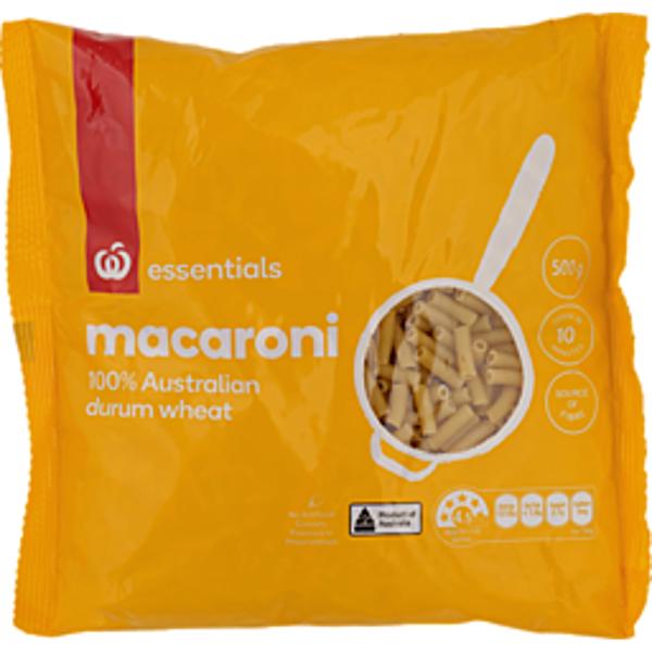 Essentials Homebrand Pasta Macaroni 500g