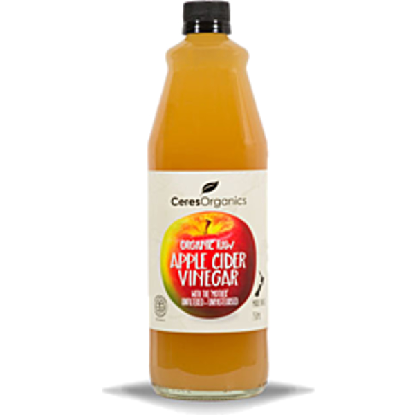 Ceres Organics Apple Cider Vinegar 750ml