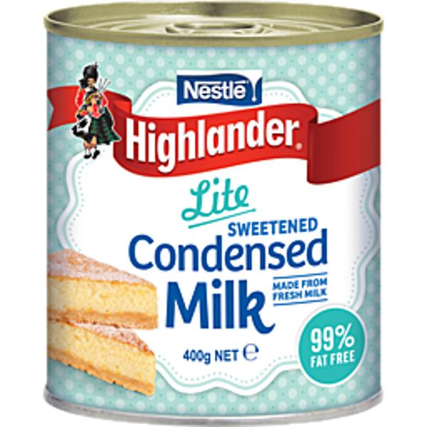 Nestle Highlander Milk Condensed Lite 400g
