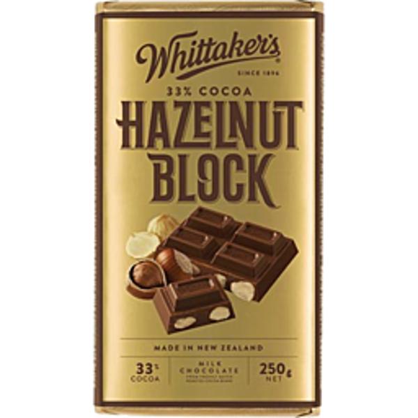 Whittaker's Roasted Whole Hazelnut 250g