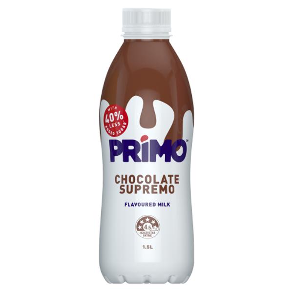 Primo Chocolate Supremo Flavoured Milk 1.5l