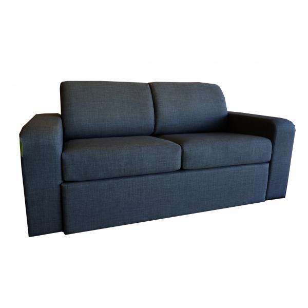 Euro Sofa Bed Ciro Black Fabric Eurosofabl Nz Prices Priceme