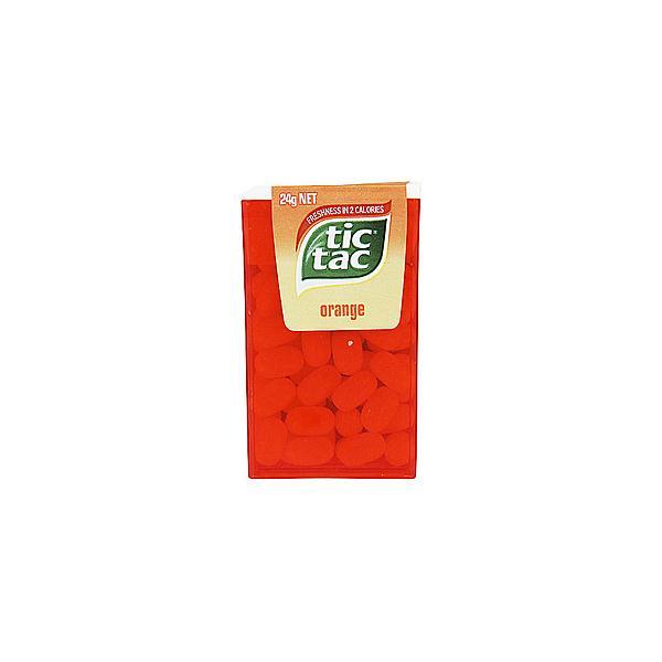 Tic Tac Orange Flat 24g