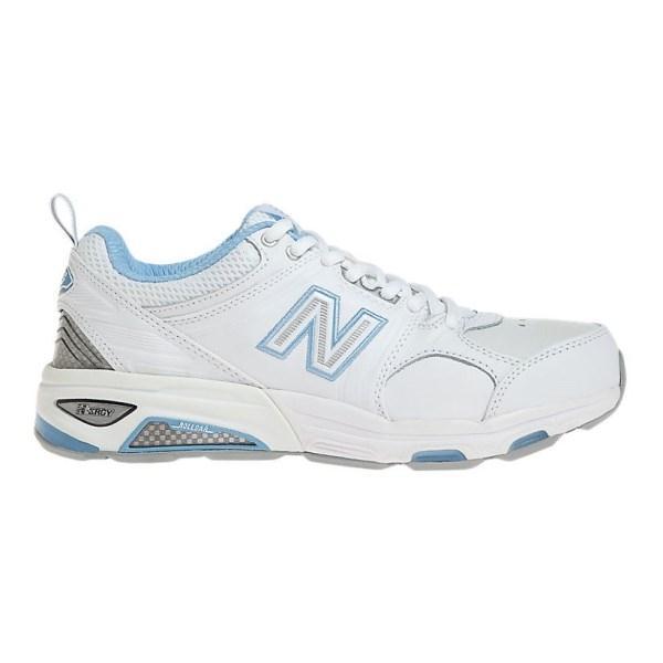 New Balance 857 - Womens Cross Training Shoes - White/Blue
