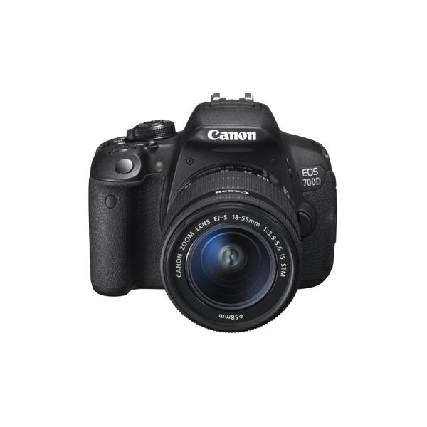 Canon eos 700d 18 55 3 5 5 6 is stm 55 250 4 0 5 6 is for Housse canon 700d