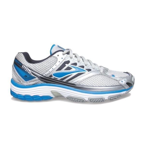 1e5f11a77a3 Brooks Liberty 9 Mesh - Mens Cross Training Shoes - White Brillant  Blue Peacoat