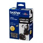 Brother LC38 Black 2 Pack