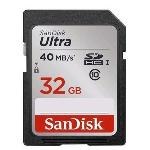 SanDisk Ultra UHS-I SDHC Class 10 40MB/s 32GB