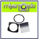 Square Filter Gradual Gray Set (Ring + Holder + Filter )