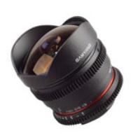 Samyang CS 8mm T3.8 VDSLR Fisheye For Sony