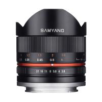 Samyang 8mm F2.8 UMC Fisheye II For Samsung NX