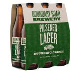 Boundary Road Brewery Pilsner Lager Bouncing Czech 1.98L (330ml x 6pk)
