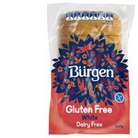 Burgen Gluten Free Sliced Bread White 600g