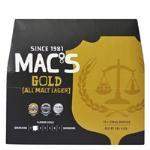 Mac's Lager Gold 330ml bottles 12pk