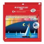 Staedtler LUNA Watercolour Pencils and Brush Pack 48 13710C48