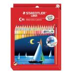 Staedtler LUNA Watercolour Pencils and Brush Pack 36 13710C36
