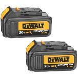 Dewalt DCB200-2 20V MAX Li-Ion 3.0 Ah Battery x 2