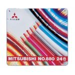 Mitsubishi Uni-ball No.880 ColouredPencil 24 Colors