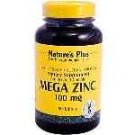 Nature\'s Plus, Mega Zinc, 100 mg, 90 Tablets