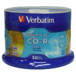 Verbatim CDR 52X Gold Vinyl AZO (50pcs)