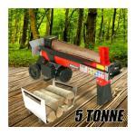 5 Tonne 1500W Outdoor Garden Log Splitter