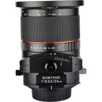 Samyang 24mm F3.5 Tilt-Shift For Sony