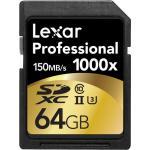 Lexar Pro UHS-II SDHC Class 10 1000x 64GB