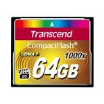 Transcend Compact Flash 1000x 64GB