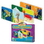 The Learning Journey Match It! Ocean Dominoes