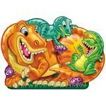 Patch Sneaky Puzzles 2-Sided Floor Puzzle Dinosaur Land (46pc)