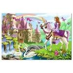 Melissa & Doug Fairy Tale Castle Floor Puzzle (48pc)
