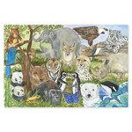 Melissa & Doug Endangered Species Floor Puzzle (48pc)