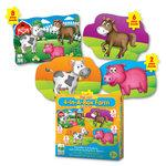 The Learning Journey Step Ups! 4-In-A-Box Farm