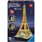 Ravensburger 3D Puzzle Eiffel Tower Night Edition (216pc)