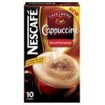 Coffee Sachets Nescafe Cappuccino Pk10