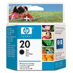 HP Ink Cartridge #20 Black C6614DA