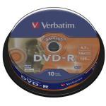 Verbatim 16x DVD+R 4.7GB 10pk
