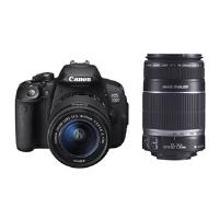 Canon EOS 700D + 18-55/3.5-5.6 IS STM + 55-250/4.0-5.6 IS