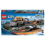 LEGO City 4X4 with Powerboat 60085