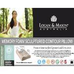Logan & Mason Sculptured Memory Foam Pillow