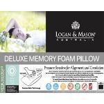 Logan & Mason Deluxe Memory Foam Pillow