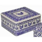 Emma Bridgewater Blue Skies Square Cake Tin 27cm