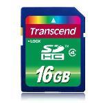 Transcend SDHC Class 4 16GB