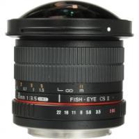 Samyang 8mm F3.5 CS Fisheye II For Canon
