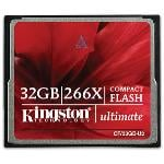 Kingston Ultimate Compact Flash 266x 32GB