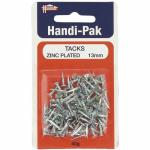 Handi-Pak Tacks 13mm Zinc Plated TACK13T