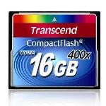 Transcend Compact Flash 400x 16GB