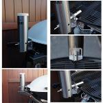 Smokai Smoker Quick Mount Adaptor for Weber Family Q 320 / 300 / 305