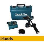 Makita Xph07 18v 1/2&quote; Brushless Hammer Drill Kit